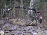 Манипуляторы и лесные прицепы Palms (Эстония)