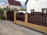 Штакетный металлический забор с двухст. порошковой покраской!