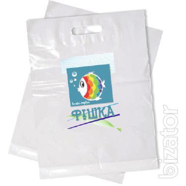 Печать на пакетах от 100 шт. Днепр