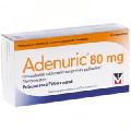 Лекарство от подагры Adenuric (Аденурик)  28 таб. 80/120мг