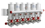 Поставляем фильтры для судовых систем. Фильтры для очистки топлива судовых дизелей.  Топливные фильтры/сепараторы воды для дизел