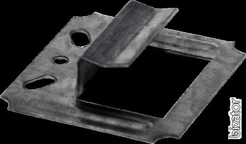 Скрытый металлический крепёж ДекТай Змейка-Лодочка 190 ЛЦС