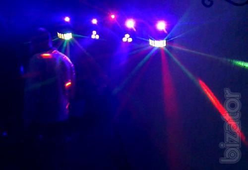 Організація свят(весілля, ювілеї) тамада + звук, світло, спецефекти
