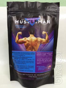 Купить Средство для наращивания мышечной массы Muscleman (Мускул Мен) оптом от 10 шт