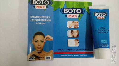 Купить Крем с эффектом ботокса Boto Max от морщин оптом от 10 шт