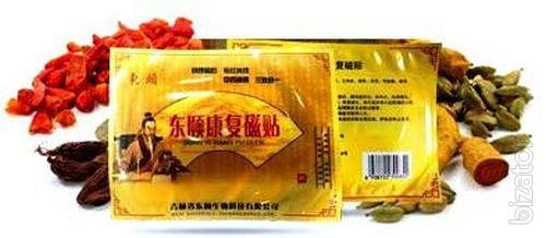 Купить Китайский пластырь Черный нефрит против болевого синдрома оптом от 10 шт