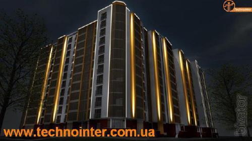 Архитектурное освещение, архитектурная подсветка.