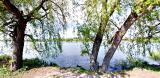 Продам участок над озером в городе