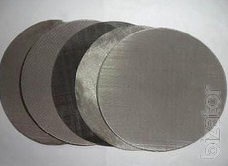 Stainless Steel Filter Disc/Stainless Steel Woven Wire Mesh/Filter Mesh/Filter Cloth