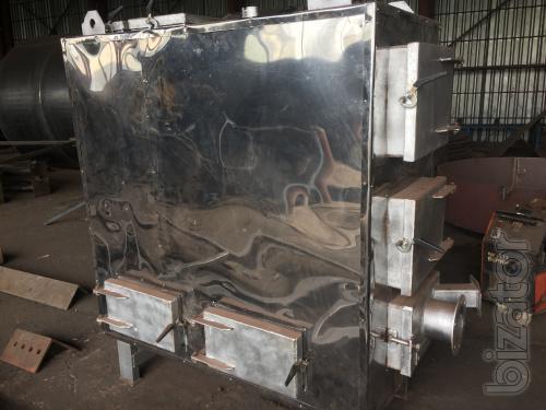 Твердотопливный масленый котёл с автоматической подачей топлива(лузга, тырса, отходы)