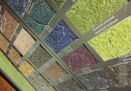Моделирующая рельефная акриловая шпатлевка для создания декоративных покрытий