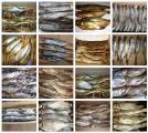 Рыба речная вяленая и холодного копчения оптом.