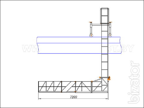 Платформа мостовая механическая ДТС-4