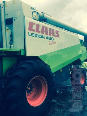 Свежепривезенный комбайн Claas Lexion 460 Evolution