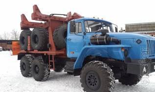 Урал 43204 трубоплетевозный тягач
