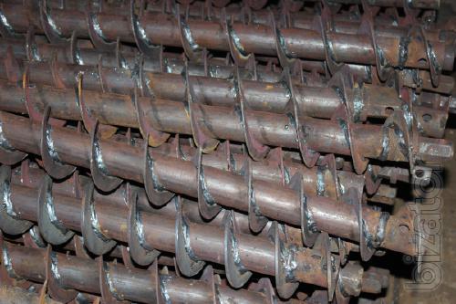 Производство промышленных винтовых шнеков