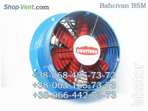 Осевой  (приточный, вытяжной,  вентилятор охлаждения) Bahcivan BSM
