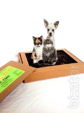 «ПІС ПІС».Натуральний лоток-туалет для собак та котів