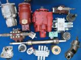 Гидронасосы, гидромоторы, гидроцилиндры, гидрораспределители и комплектующие к ним