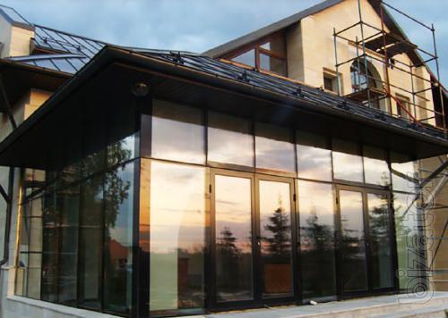 Светопрозрачные фасады, Фасадное остекление Проектирование / Изготовление / Монтаж - Фабрика окон АНКО