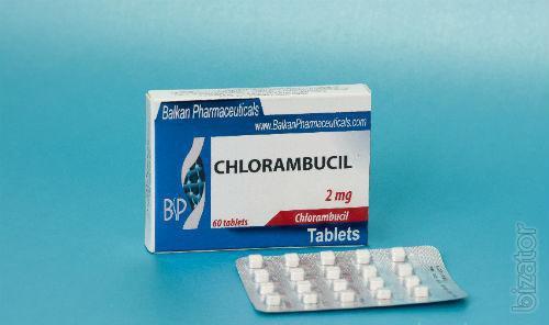 Продам. Хлорамбуцил (Лейкеран) 2мг, 60 табл. Balcan Pharmaceuticals, цена 1 400 грн.