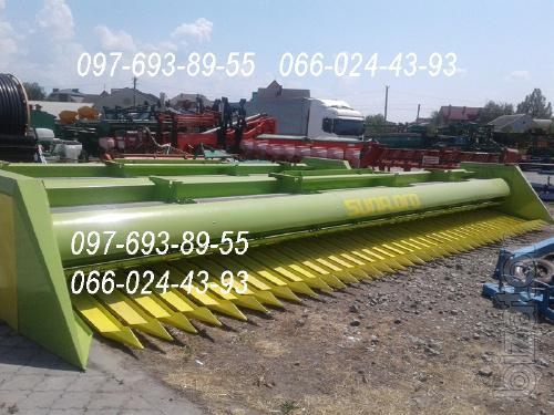 Жатка для уборки подсолнечника ЖСБ-9.2 SunFloro