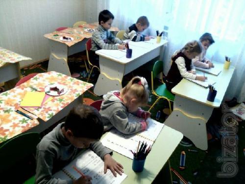 Подготовка к школе на Позняках, Харьковском, Осокорках (1-й урок-бесплатный), Мини-сад.