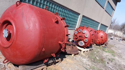Реактор эмалированный химический СЕРн эмаль 2, 5 м3