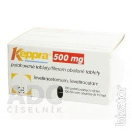 Кеппра 500 мг 50