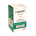 Гемзар лиофил. пор. д/инф. 1000 мг 1