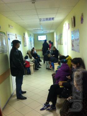 Эксклюзивная видео реклама в детских поликлиниках города Киева!