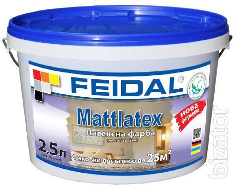 Латексная краска для отделки стен и потолка