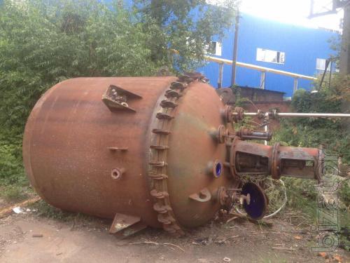 Реактор эмалированный химический СЕРН 6,3 м3.