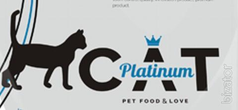 Акция на сухой корм для кошек премиум класса Platinum Cat