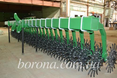 Борона ротационная Мотыга от 3м до 12м