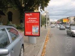 Размещаем рекламу на биллбордах, ситилайтах