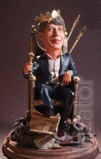 Шаржевые статуэтки по фото на заказ, портерные фигурки ручной работы