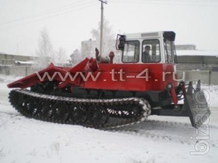 Трактора трелевочные ТСН-4, новоое поколение трелевочников ТТ-4М