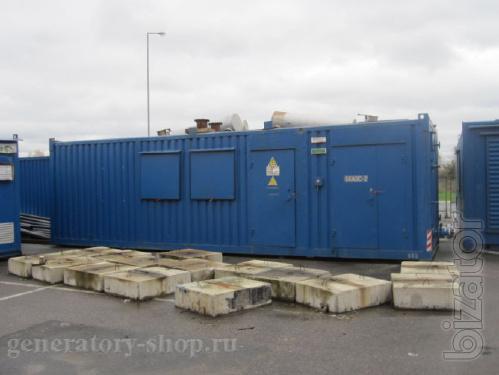 Дизель генератор электростанция FG Wilson 1 мгв с хранения