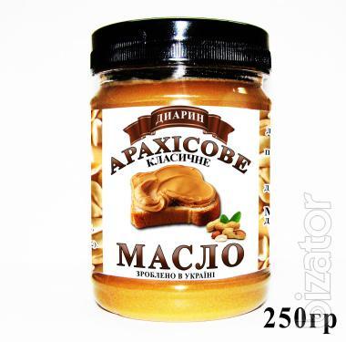 """Натуральное арахисовое масло (паста) """"Диарин"""" от производителя"""