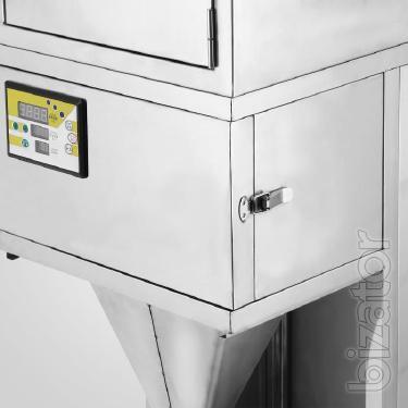 Фасовочная машина для сыпучих с автоматическим взвешиванием