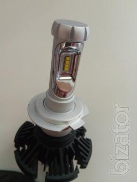 Комплект LED ламп G7S - H7 - головного света ― альтернатива ксенону в рефлекторную оптику.
