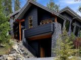 Облицовочный бетонный камень Рустик для отделки фасада.
