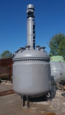 Реактор из нержавеющей стали 3,2 м3.