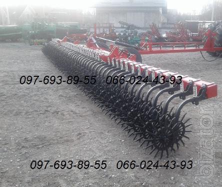 Борона-мотыга ротационная МРН-12 12 метровая