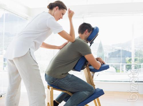 Профессиональные массажисты с выездом в офис.