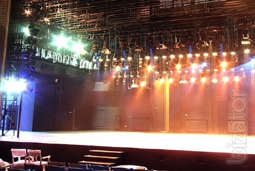 Световое и звуковое оборудование для залов и клубов.