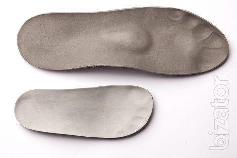 Изготовление индивидуальных ортопедических стелек