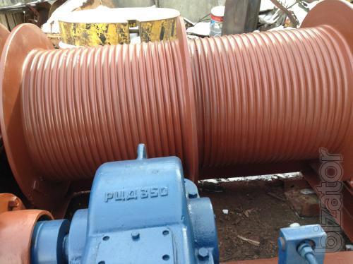 Лебедка электрическая маневровая ЛМ-20 г/п 20тонн с тросом