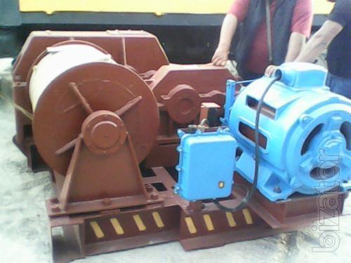 Лебедка маневровая электрическая г/п 16 тонн ЛМ-160 с тросом